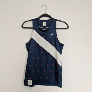 Tracksmith Relay Singlet Workout Running Tank / XS